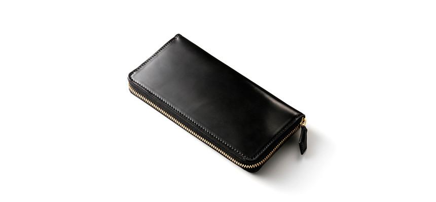 シェルコードバン長財布