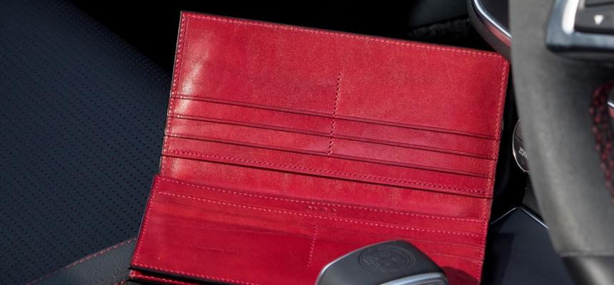 オイルコードバン長財布