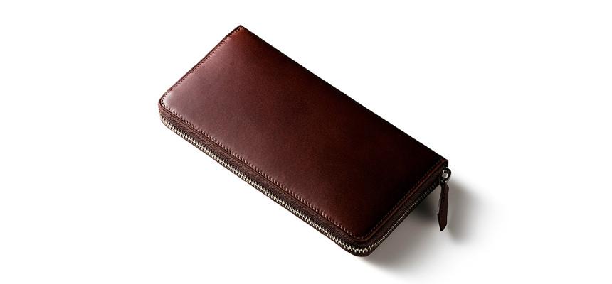 プルアップレザー長財布