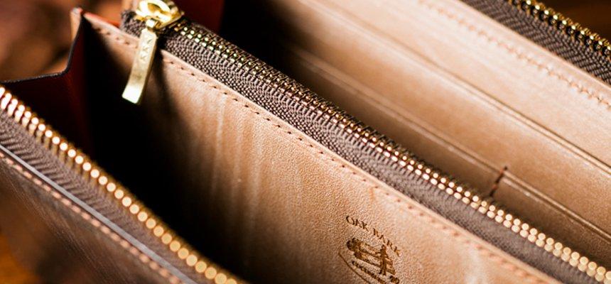 オークバーク長財布の機能性
