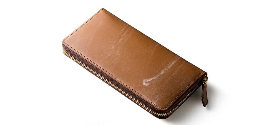 オークバーグ長財布の風情