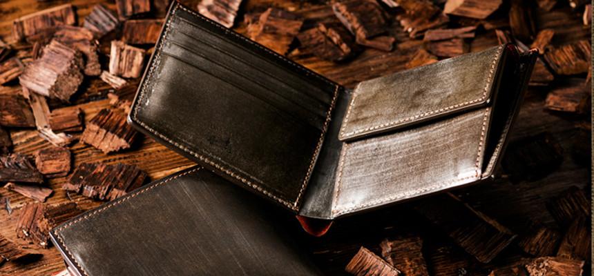 オークバーグ仕様二つ折り財布
