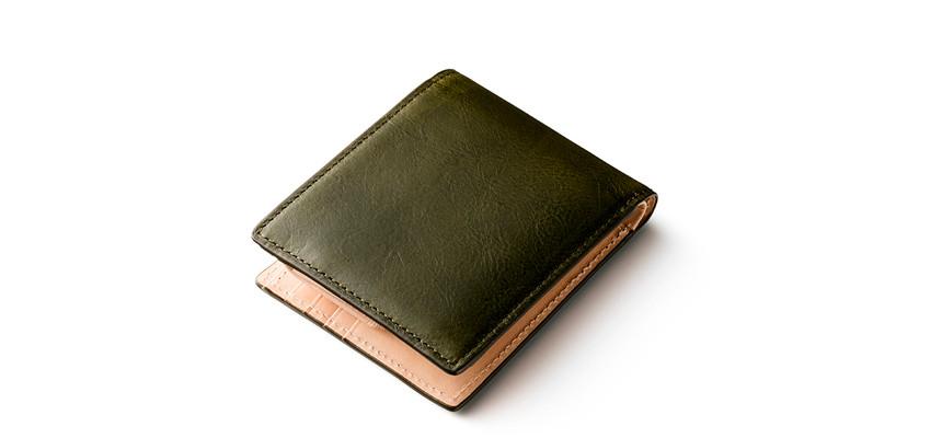 マットーネ二つ折り財布