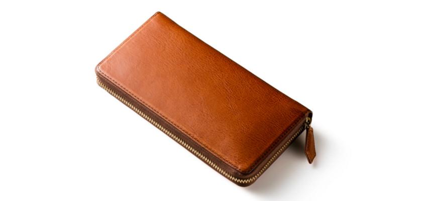 大容量ラウンドファスナー長財布