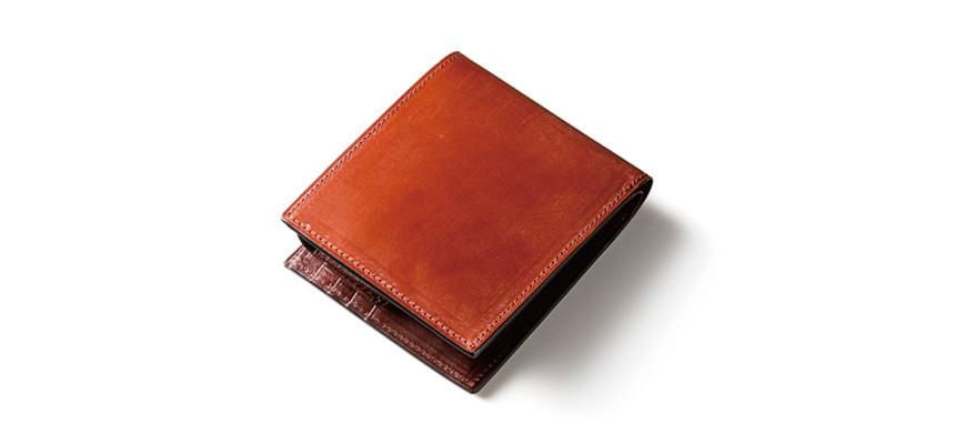 ロイヤルブライドルレザー二つ折り財布