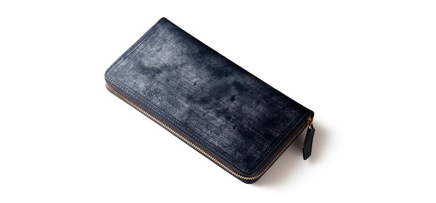 ジョージブライドルレザー長財布