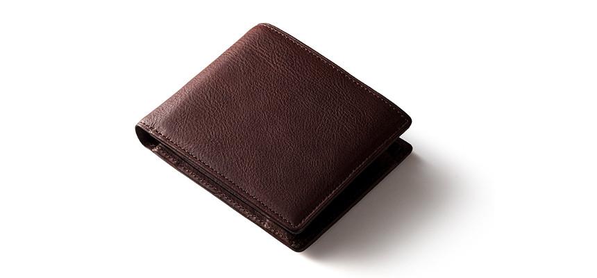 ミネルバボックス仕様二つ折り財布