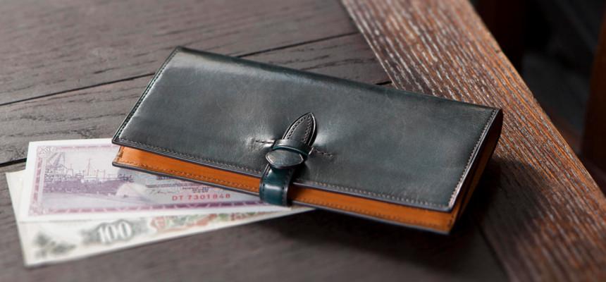 イタリアンレザー仕様の財布一覧