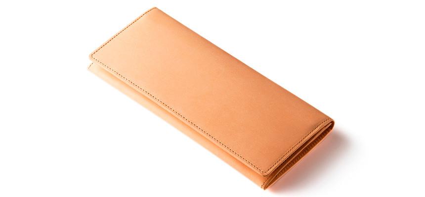ベジタブルタンニンレザー財布