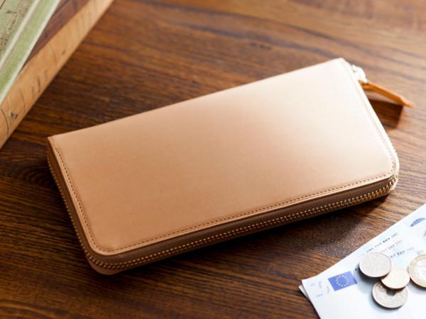 パティーナ・ラウンドファスナー長財布のデザイン