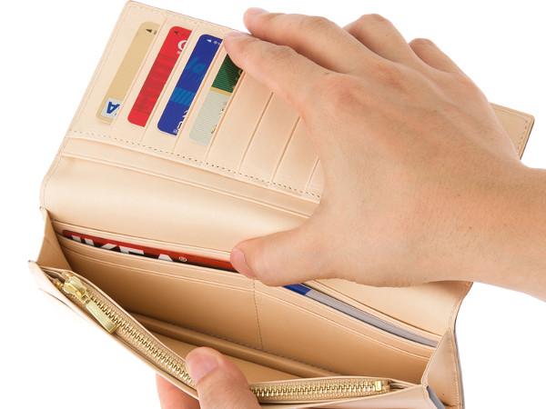 隠しカードポケット