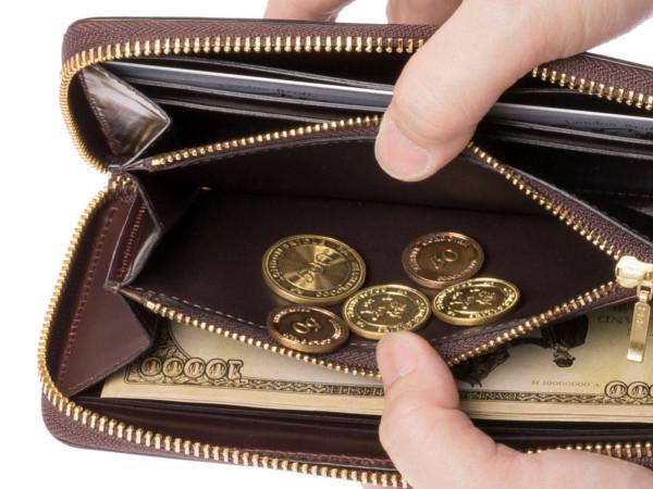 アーチデュークの小銭入れポケット