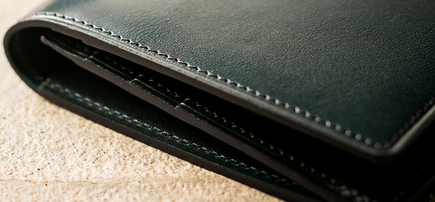 薄い財布「長財布」