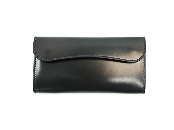 WILDSWANS(ワイルドスワンズ)シェルコードバン長財布