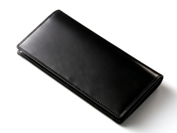 スタンフォード シェルコードバン長財布