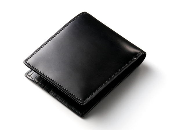 ジョンブル 無双仕様シェルコードバン二つ折り財布