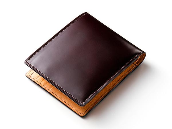 ラスティング マイスターコードバン二つ折り財布