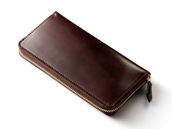 アーチデューク シェルコードバン長財布