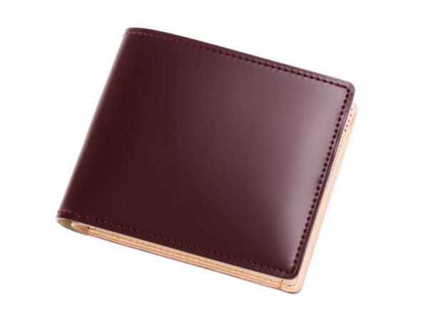 CYPRIS「5611」 新コードバン(アニリン染め)二つ折り財布