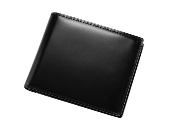 CYPRIS「5301」 オイルシェルコードバン二つ折り財布
