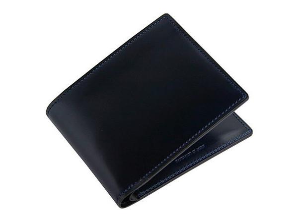 CYPRIS アンフィニ「5732」 オイルシェルコードバン二つ折り財布