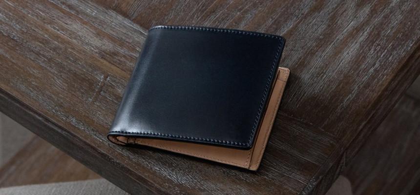 CIMABUE「C15193」|水染めコードバン二つ折り財布