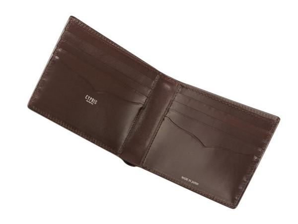 コードバン&リンピッドカーフ「カード折財布(5302)」