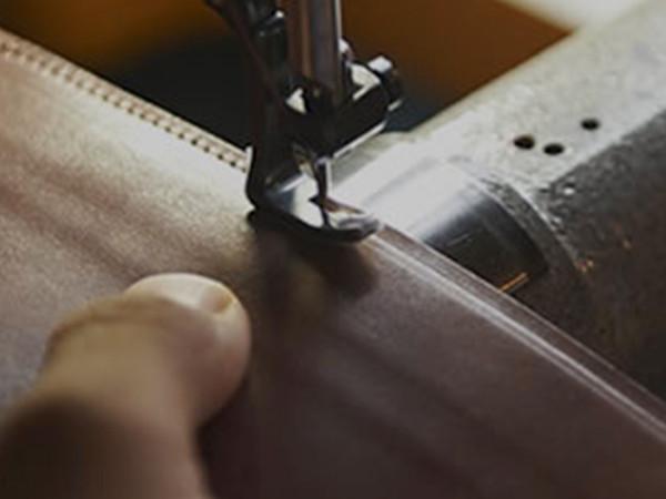 丁寧な縫製