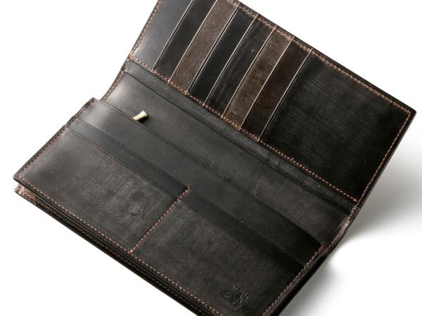 オークバーク仕様の長財布ウェスターリー