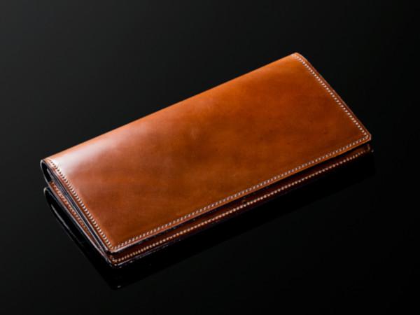 ※ウィスキー色※シェルコードバン長財布