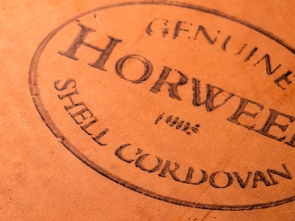 ホーウィン社の刻印
