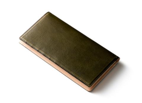 緑色系の財布