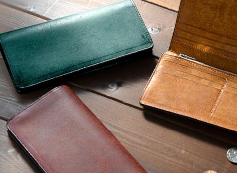 プエプロレザーの長財布