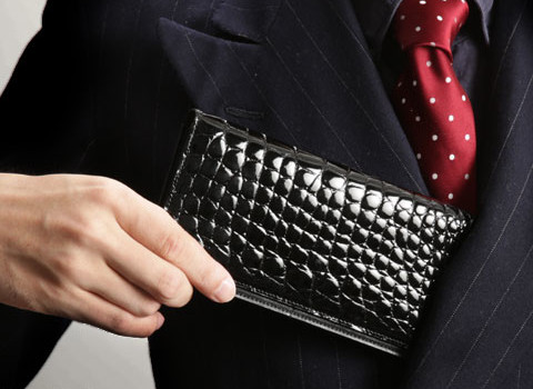 Crocodile Billcase wallet長財布(札入れ)