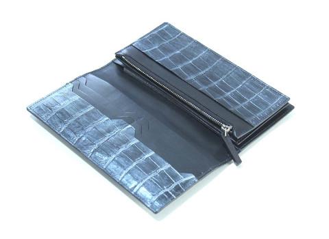 ナイルクロコダイル長財布「LGW001」