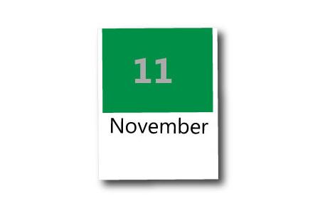 11月の季節