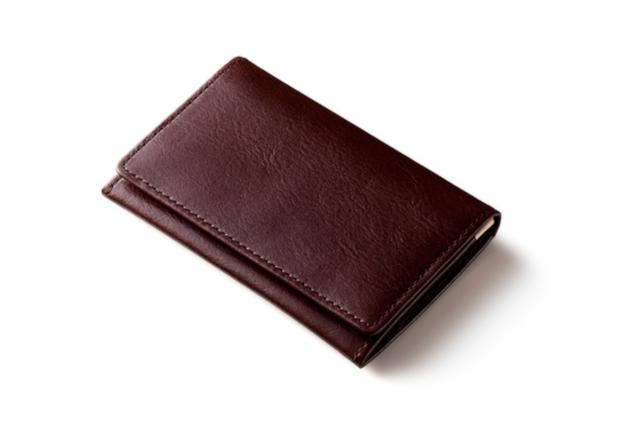 「茶色系」の名刺入れ(カードケース)