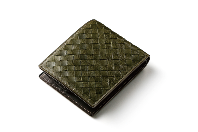 ポンテマットーネ・ディーミディウム(二つ折り財布)