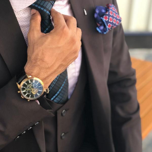 茶色・褐色系のスーツ&ジャケットに適した「長財布」特集!