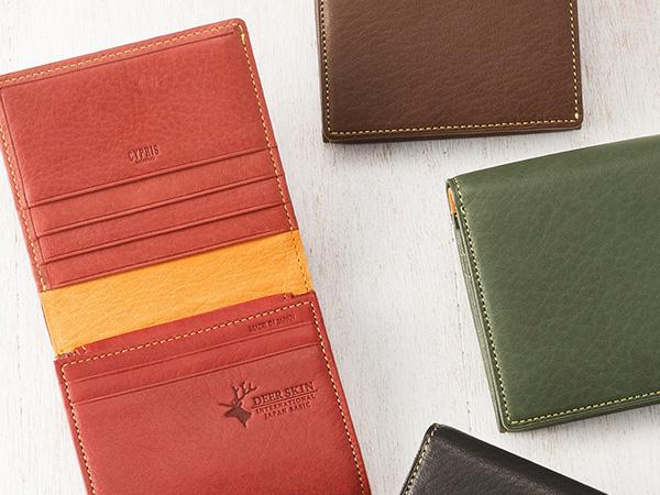 ディアスキン仕立ての革財布の魅力