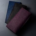 黒桟革財布