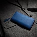 スクモレザーとは!?日本伝統の藍染革財布の特徴と魅力