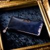【評判・感想】フローズン・アレフランス!ラムエナメルレザの長財布