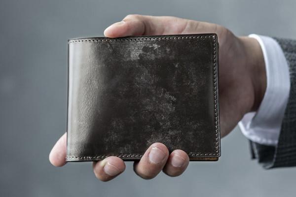 Bridle Leather ブライドルレザー 二つ折り財布