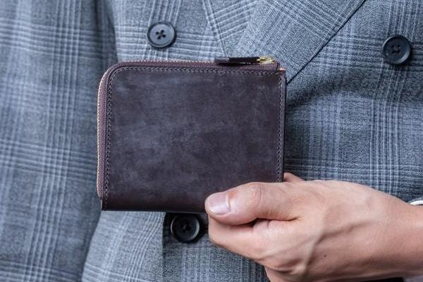 Bridle Leather ブライドルレザー L字ファスナー財布