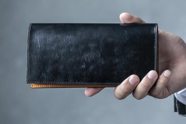 Bridle Leather 英国製ブライドルレザー 長財布
