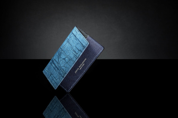スクモレザー ロウ割れ カードケース