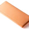 ベジタブルタンニンレザー財布(ヌメ革)LIST!本物志向のVegetable tannin leather