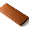 財布メンズPRESENTATION|ベジタブルタンニンレザー長財布「パティーナ」